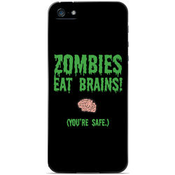 Zombies Eat Brains Apocalyptic Series iPhone Case