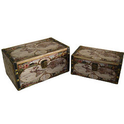 Globe Decorative Trinket Boxes