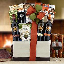 Italian Wine Tasting Gift Basket