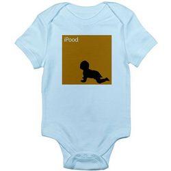 iPood iPod Spoof Infant Creeper