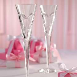 Waterford Love and Romance Champagne Flutes
