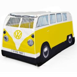 Kid's Volkswagen Camper Bus Pop-Up Tent in Yellow