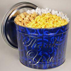 Thank You 2 Gallon Popcorn Gift Tin