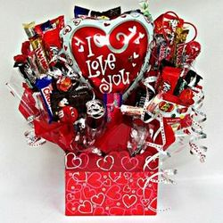I Love You! Candy Bouquet