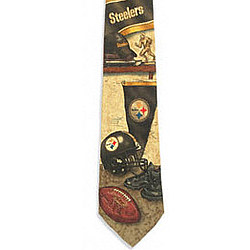 Pittsburgh Steelers Nostalgia 2 Silk Tie