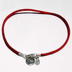 Protection & Positive Energy Red String Kabbalah Anklet