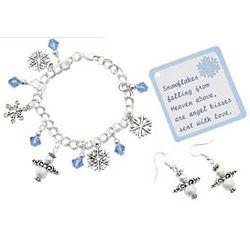 Angel Kiss Bracelet and Earrings