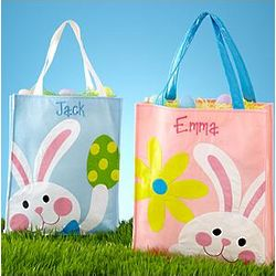 Personalized Oversized Easter Tote Bag
