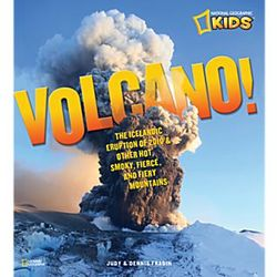National Geographic Volcano Children's Book