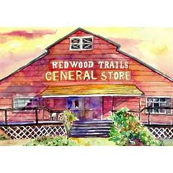 General Store Personalized Art Print
