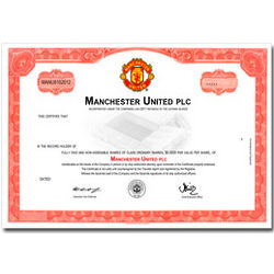 Manchester United Football Club Stock