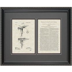 Otoscope 16x20 Framed Patent Art Print