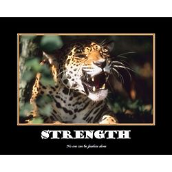 Strength Personalized Art Print