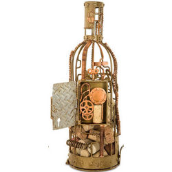 Gear Works Wine Cork Cage or Bottle Holder