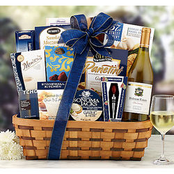 Hobson Estate Chardonnay Bon Appetit Gift Basket