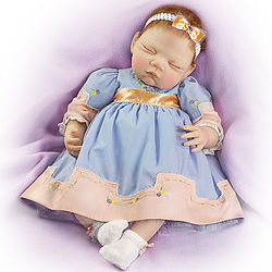 Sweet Slumber Collectible Lifelike Baby Doll