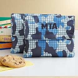 Personalized Playful Print Snack Bag