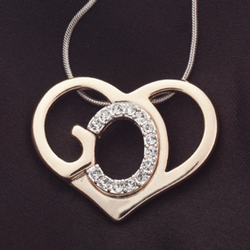 Personalized God's Heart Necklace