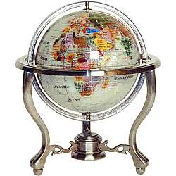 Metropolitan Gemstone World Globe