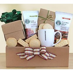 Starbucks Recharge and Renew Gift Box