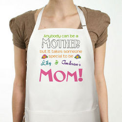 Anybody Can Be a Mother Personalized Apron