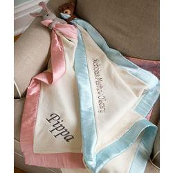 Personalized Organic Buddy Blanket
