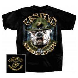 USMC Semper Fi Bulldog T-Shirt
