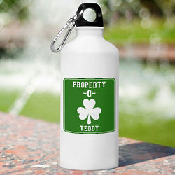 Personalized Property O' Irish Water Bottle