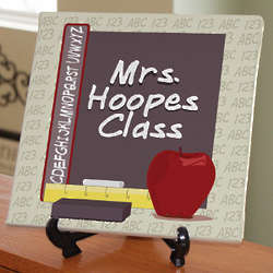 Teacher's Class Personalized Wall Canvas