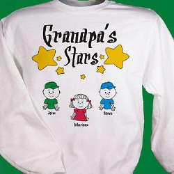 My Stars Personalized Sweatshirt