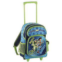 Disney Toys at Play Rolling Backpack