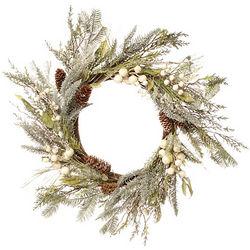 Iced Pine Berry Wreath