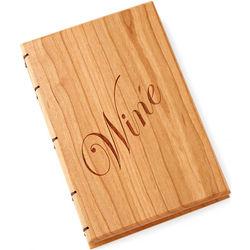 Handcrafted Heirloom Wine Journal