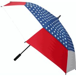 American Flag Double Vented Windbuster Umbrella