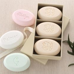 Personalized Monogram Guest Soap Set