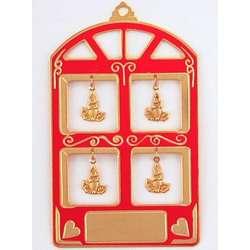 Engravable Christmas Window Ornament