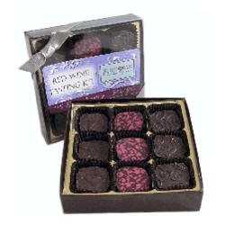 Red Wine Truffle Tasting Kit