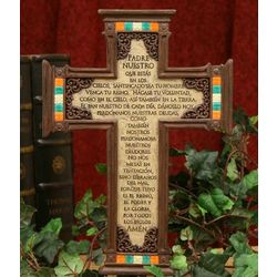 """Padre Nuestro"" Memorial Cross"