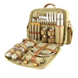 Safari Combo Shoulder Bag Picnic Set