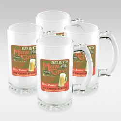 Personalized Frosted Sports Mugs