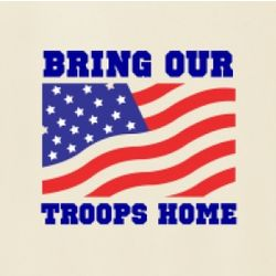 Bring Our Troops Home Women's T-Shirt