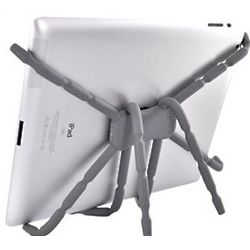 Tablet Spider Podium Stand in Grey