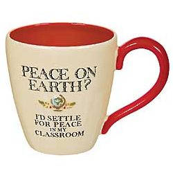 Peace in My Classroom Teacher Mug