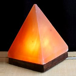 Fair Trade Pyramid Salt Lamp