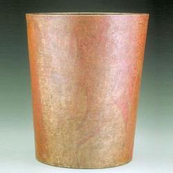 Hammered Copper Waste Paper Basket