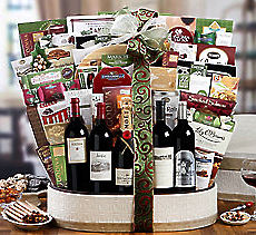 Sommelier's Assortment Wine and Snack Basket