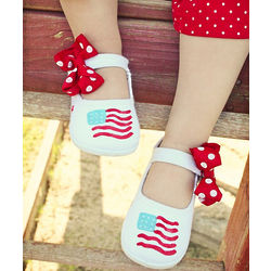 Stars and Stripes Mary Jane Shoes