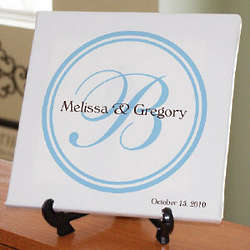 Wedding Personalized Wall Canvas