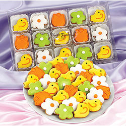 Birds and Flowers Cookie Collection
