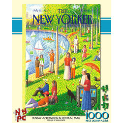 Sunday Afternoon in Central Park 100-Piece Puzzle